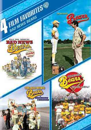 4 FILM FAVORITES:BAD NEWS BEARS BY MATTHAU,WALTER (DVD)